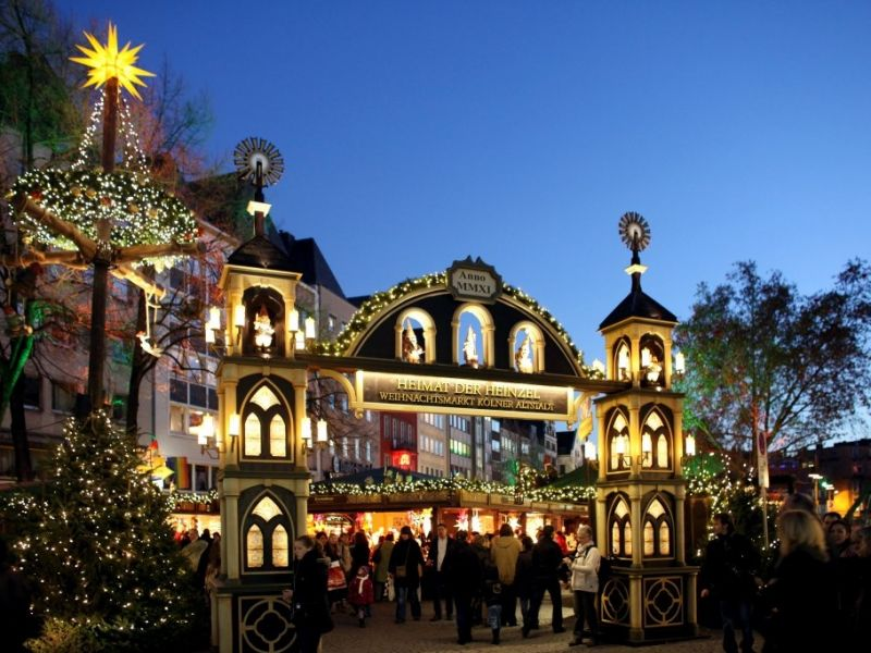 Wo Ist Der Größte Weihnachtsmarkt.Programm Und Neuerungen Auf Kölns Größten Weihnachtsmarkt Bei Den