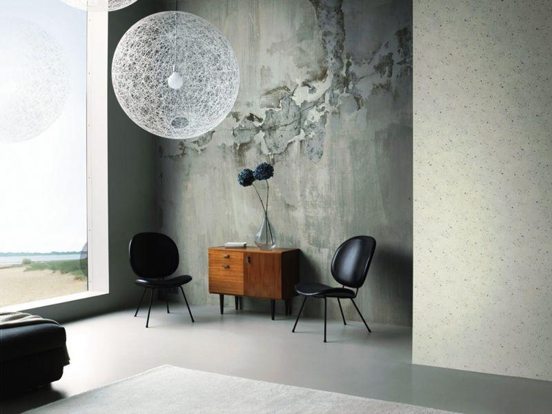 trends an der wand die neuen tapetenkollektionen. Black Bedroom Furniture Sets. Home Design Ideas