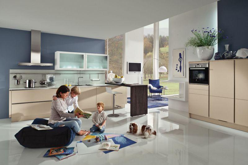 Weniger ist mehr: Modernes Küchendesign ist auf das Wesentliche ...