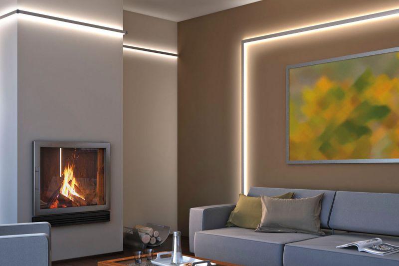 licht schafft atmosph re mit led stripes und. Black Bedroom Furniture Sets. Home Design Ideas