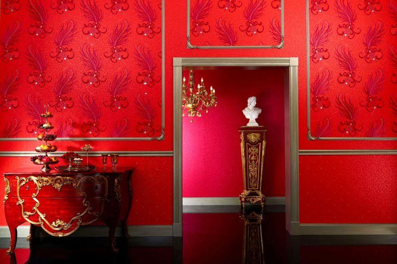 wohnen mit tapete so werden die eigenen vier w nde gem tlich. Black Bedroom Furniture Sets. Home Design Ideas