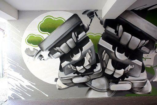 die subkultur im wohnzimmer - graffiti als kunstobjekt in der, Hause deko