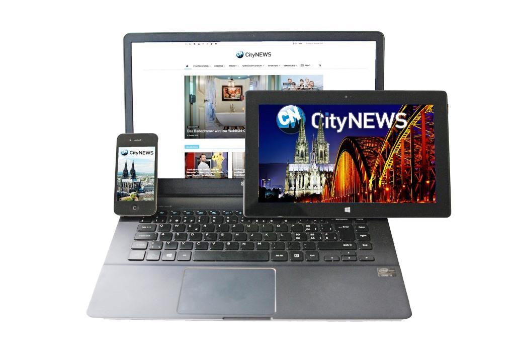 CityNEWS auf dem Smartphone, Tablet oder Computer - Sie haben die Wahl!