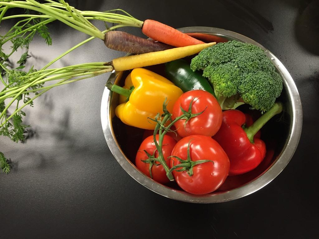 Gemüse und Obst immer waschen - copyright: pixabay.com