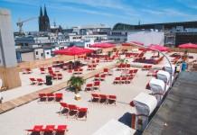 Kölns höchste Beachbar: Die SonnenscheinEtage copyright: SonnenscheinEtage