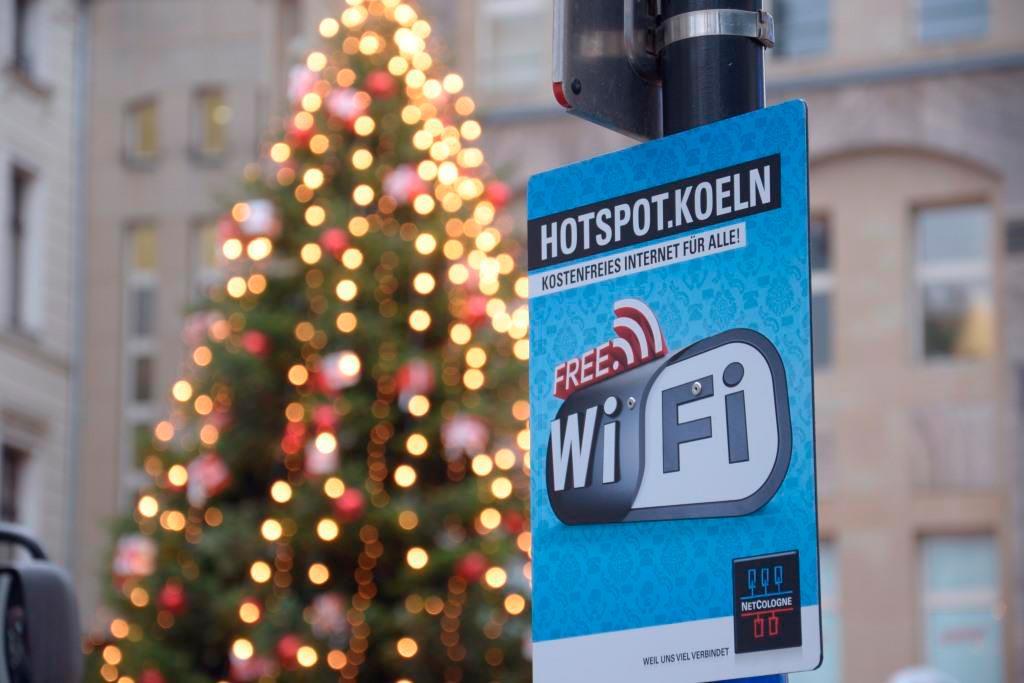Kostenloses WLAN an allen Kölner Weihnachtsmärkte copyright: NetCologne