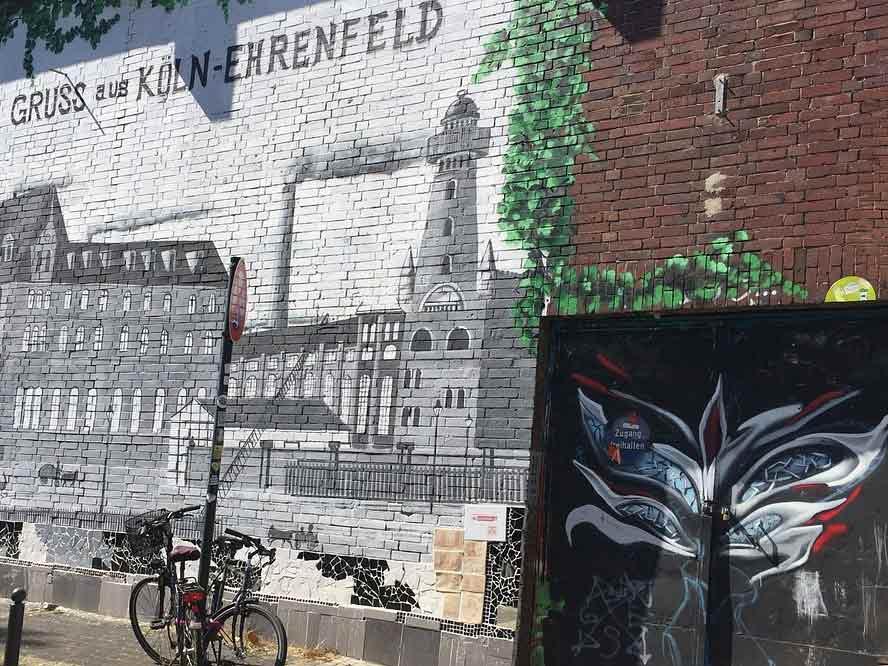 Street Art Szene in Köln: Fern von Dom und Brauerei zeigt sich die Stadt von einer bunten Perspektive copyright: pixabay.com
