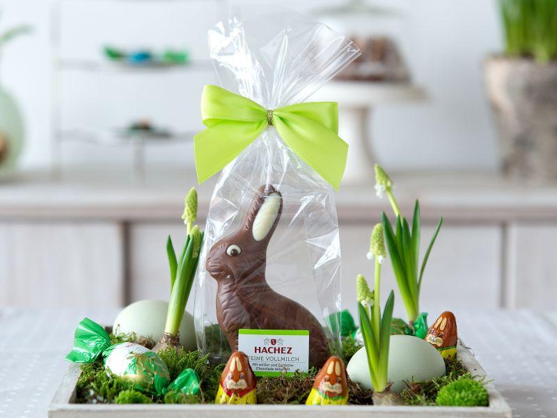 Bei der Bremer Chocoladen-Manufaktur Hachez sind z.B. alle Ostervorbereitungen pünktlich abgeschlossen. - copyright: Bremer HACHEZ Chocolade GmbH & Co. KG