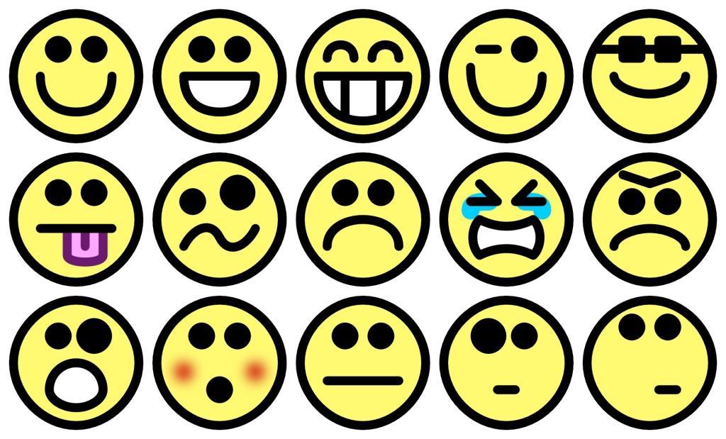 Zum kopieren smileys Smileys Symbols