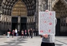 Das Köln Manifest: Wir machen's uns nicht schwerer als nötig – et hätt noch immer jot jegange - copyright WANDNOTIZ