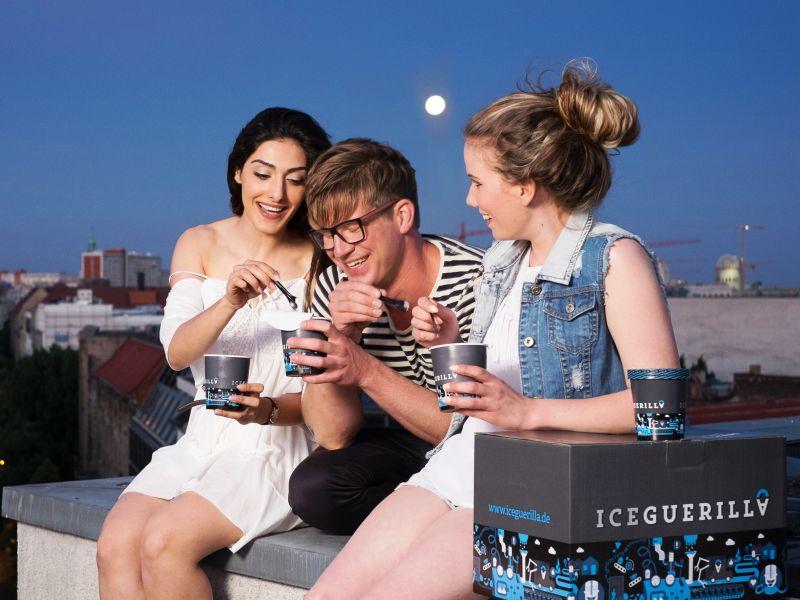 CityNEWS versüßt Euch den Sommer mit individuell zusammengestelltem Eis von IceGuerilla! copyright: IceGuerilla