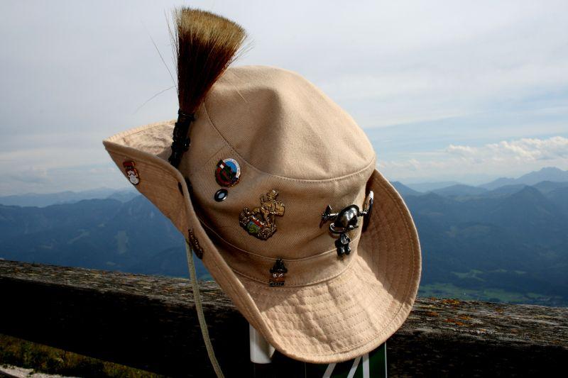 In erster Linie klippt man die Pins an Hemd oder Bluse, ans Jackett oder an den Hut. - copyright: Grey59 / pixelio.de