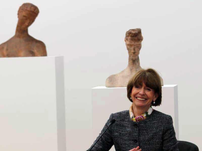 """""""Ich freue mich, hier zu sein und ihnen zu begegnen"""", sagte Kölns Oberbürgermeisterin Henriette Reker und schaute dabei lächelnd in die Runde. copyright: CityNEWS"""