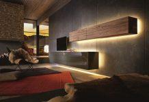 Das Geheimnis vom Licht: Möbel und Beleuchtung für ein sinnliches Wohngefühl copyright: hülsta / akz-o