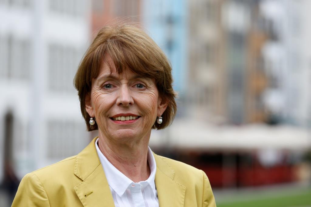 Kölns Oberbürgermeisterin Henriette Reker ist Schirmherrin beim KölnBall 2016 - copyright: Alex Weis / CityNEWS