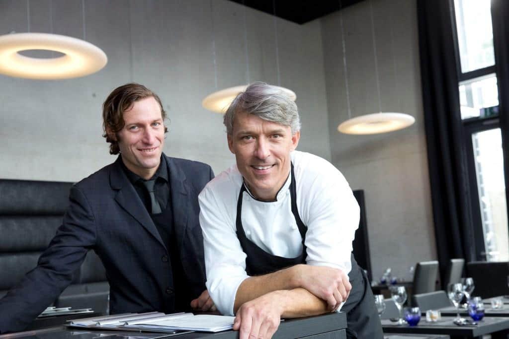 Küchenchef Jörg Bernshausen und Restaurantleiter Daniel Dowhan sind die kreativen Köpfe im BU 1. copyright: Restaurant BU 1