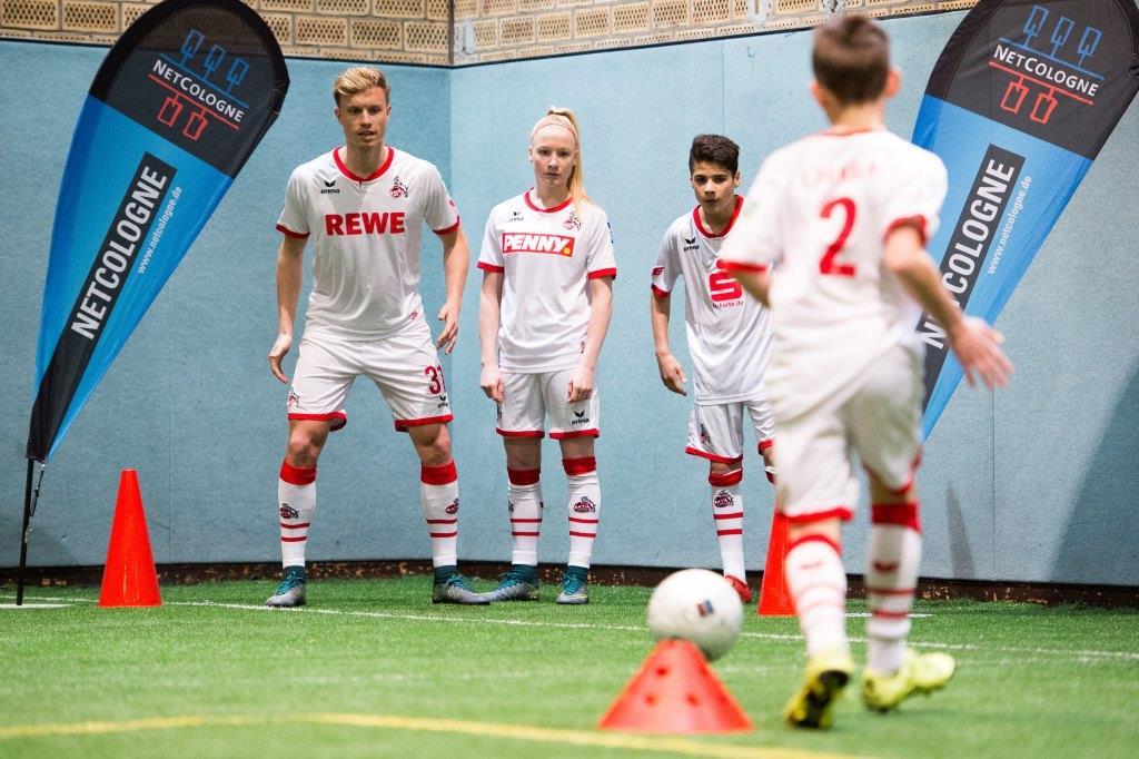 NetCologne und 1. FC Köln suchen Fußball-Talente aus der Region copyright: NetCologne / Marius Becker