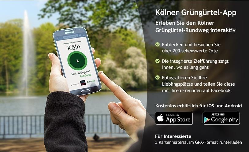 Die App kann man bequem über die Internetseite downloaden. copyright: Grün Stiftung