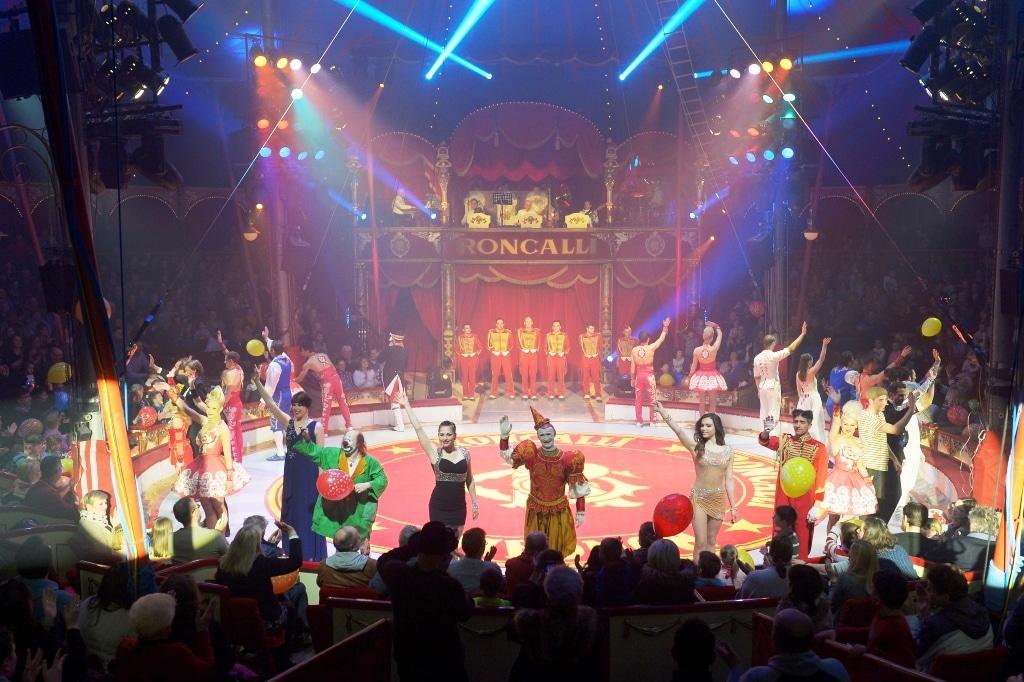 CityNEWS verlost 3 x 2 Tickets zur Premiere in Köln copyright: Circus Roncalli / Bertrand Guay
