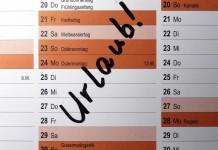 Bis Ende März Resturlaub sichern!CityNEWS zeigt Ihnen wie es geht ... copyright: Dieter Schütz / pixelio.de