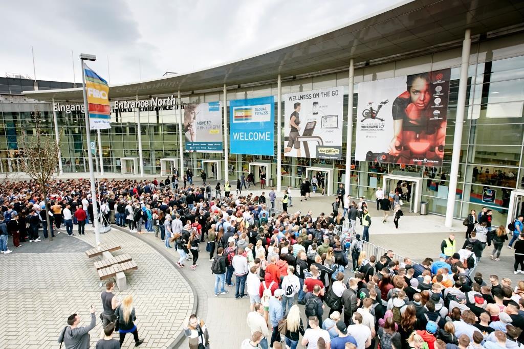 Die Fitness-Messe FIBO 2020 in Köln findet ohne Privatbesucher statt und nur Fachbesucher haben Zutritt. copyright: Behrendt & Rausch Fotografie
