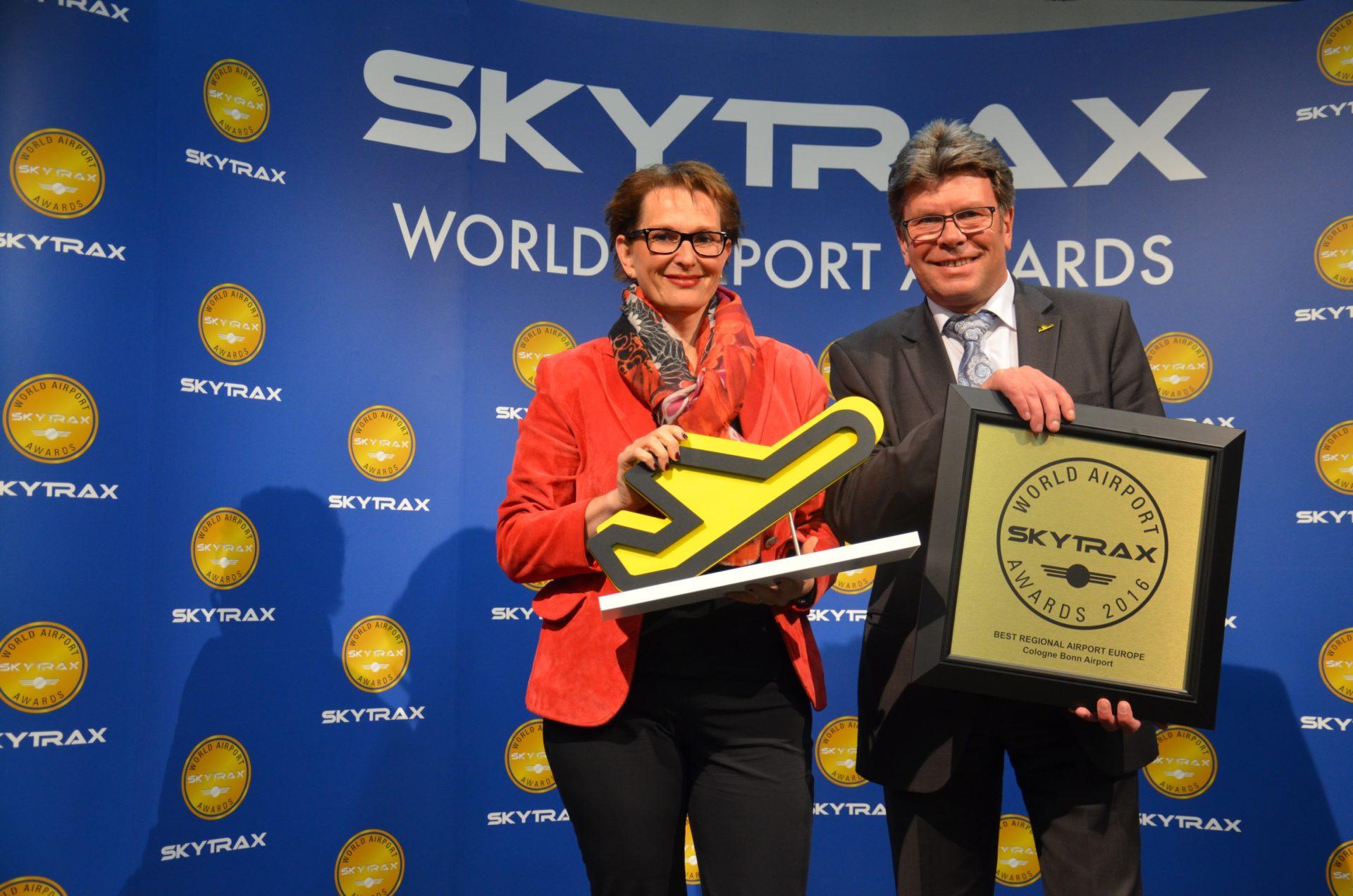 Skytrax-Awards: Flughafen Köln Bonn erneut Europas Nr. 1 copyright: Köln Bonn Airport