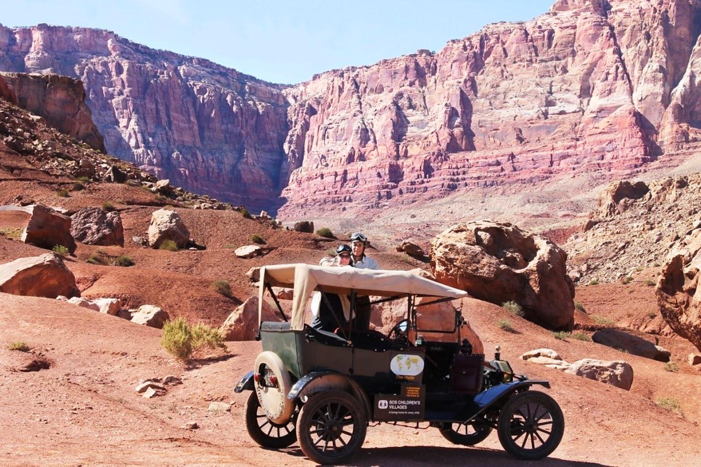 Rund um die Welt mit einem 100 Jahre alten Ford Modell T copyright: Ford-Werke GmbH