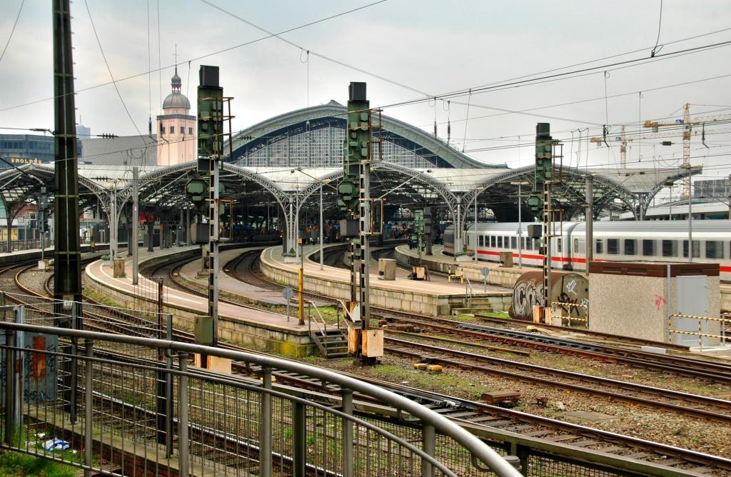 Brutaler Zwischenfall am Kölner Hauptbahnhof copyright: Dieter Poschmann/ pixelio.de