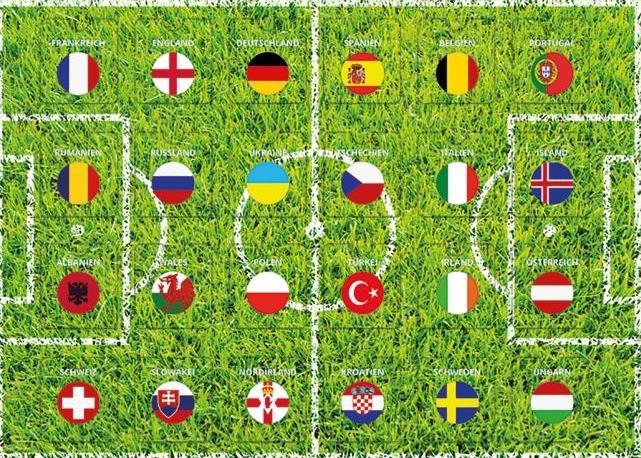 Der Schoko-Spielplan mit den 24 Ländertürchen, hinter denen sich originelle Schoko-Minitäfelchen verbergen copyright: chocri