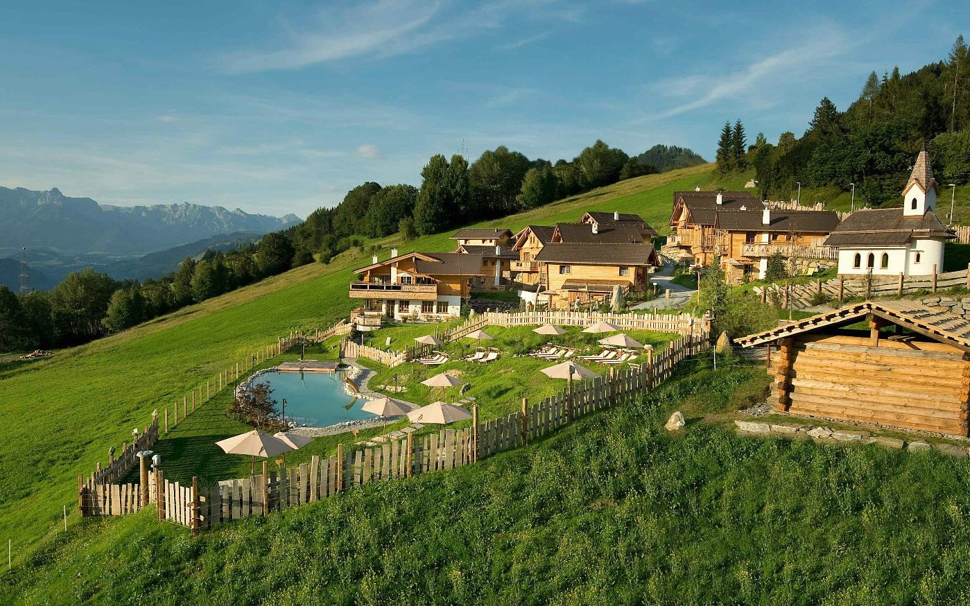 Erholung in Österreich ganzjährig im Almdorf Sankt Johann copyright: Alpendorf Chalets KG & Co. OG
