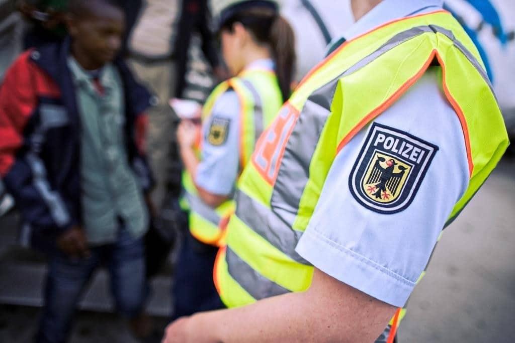Bundespolizei zufrieden mit dem Tagesverlauf - copyright: Bundespolizei