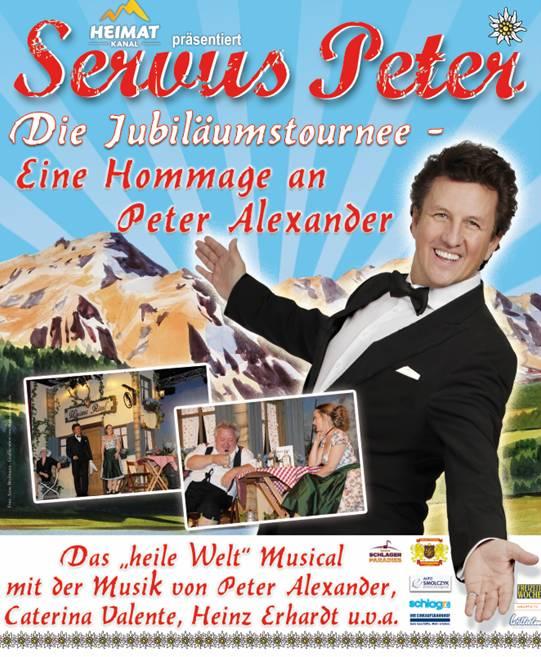 """Eine musikalische Reise in die Schlager-Zeit mit """"Servus Peter"""" copyright: Veranstalter"""