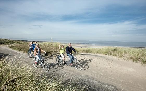 """""""Lekker Radeln"""" in den Niederlanden:Fahrradfahren und genießen Foto: Bart van der Putten"""