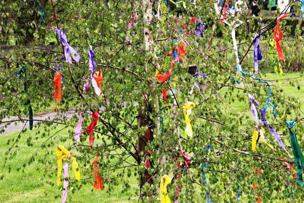 Vor allem das Stehlen des Maibaumes ist ein oft ausgeübter Brauch. copyright: pixabay.com