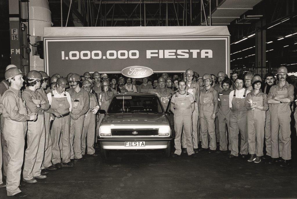 Der 1 Millionste Ford Fiesta, Ford Werk Saarlouis, 9. Januar 1979 copyright: Ford-Werke GmbH
