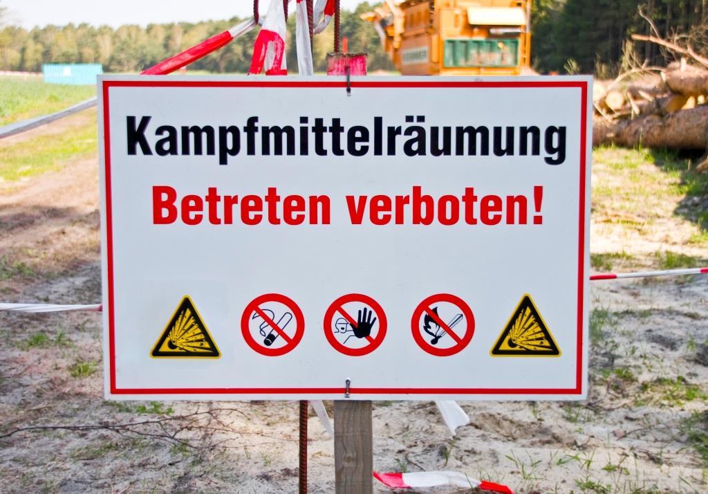 Weltkriegsbombe in Lindenthal gefunden copyright: Thorben Wengert / pixelio.de