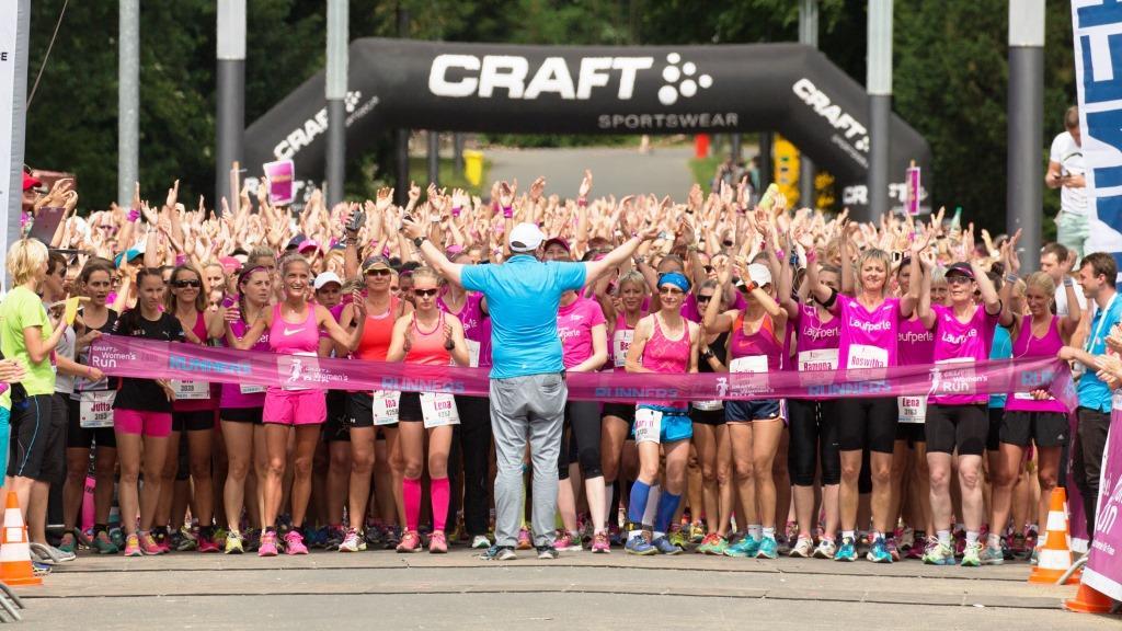 CRAFT Women's Run am 13. August 2016 in Köln:Lang lebe die Streckenkönigin! copyright: Norbert Wilhelmi