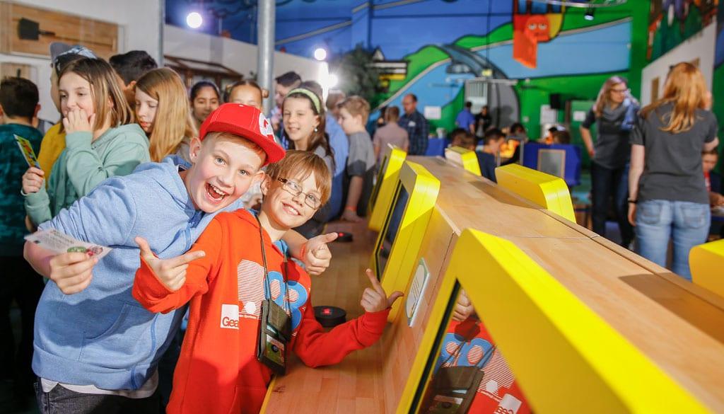 """Im """"Museum mit der Maus"""" können Kinder bereits seit 2013 den Rätseln des Alltags auf den Grund gehen. copyright: Tom Trambow"""