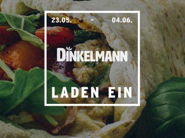 Dinkelmann lädt vom 23.05. bis 04.06.2016 zu Pizza, Pasta und Wraps aus Dinkel ein copyright: LADEN EIN
