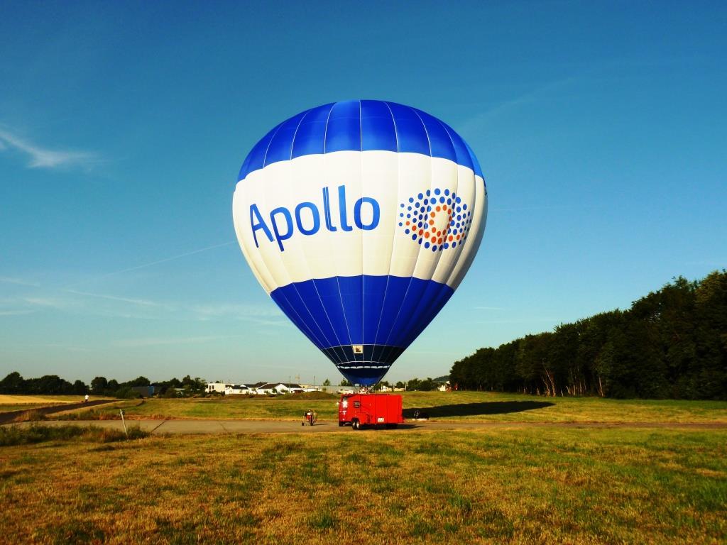 Der beste Blick mit Apollo: Gewinnen Sie eine Fahrt über das Bonner Ballonfestival mit dem Apollo-Heißluftballon! copyright: Apollo
