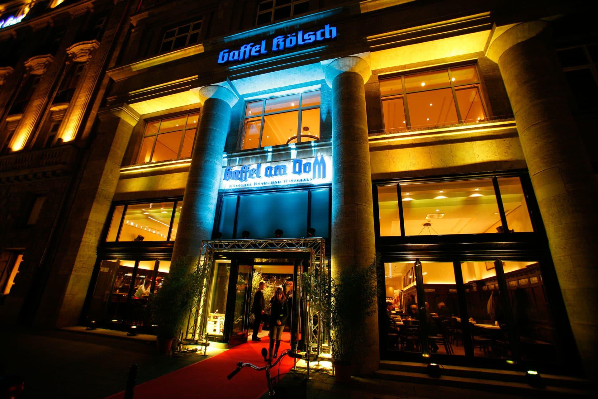 """Das """"Gaffel am Dom"""" ist ein Brauhaus typisch rheinischer Prägung copyright: Privatbrauerei Gaffel"""