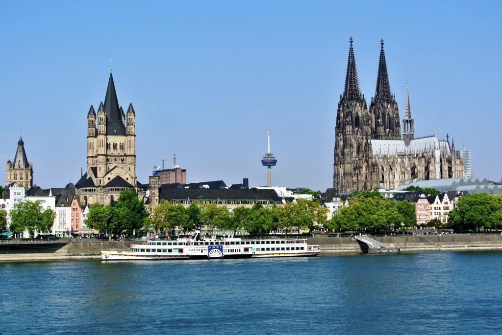 Von Köln aus auf große Reise – Flusskreuzfahrten auf dem Rhein copyright: pixabay.com