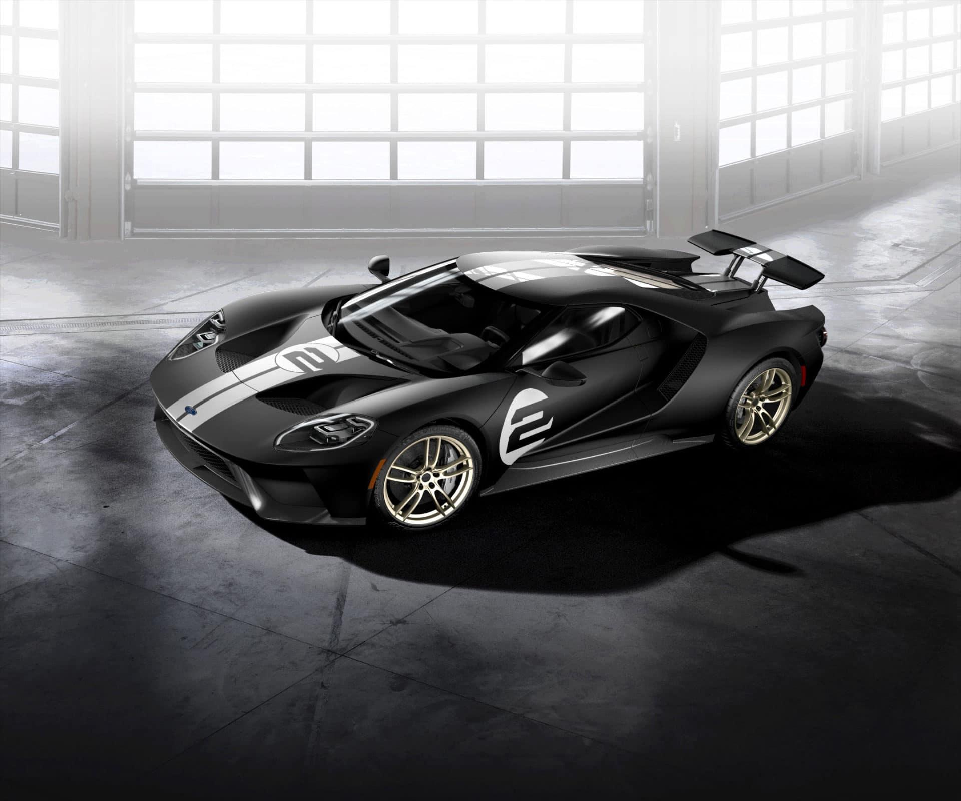 Ford GT: Sondermodell '66 Heritage Edition erinnert an das legendäre Le Mans-Siegerauto von 1966 copyright: Ford-Werke GmbH
