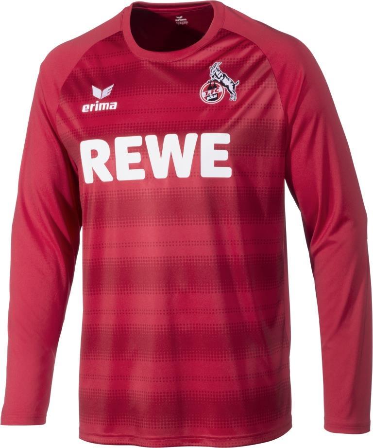 Die Torhüter des FC laufen in Rot-Dunkelrot auf. copyright: 1. FC Köln