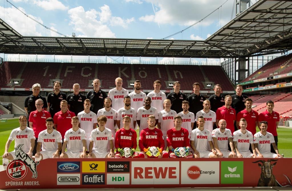 Ab 13.00 Uhr wird die Bühne dann von den Ballkünstlern in Beschlag genommen und die Mannschaft des 1. FC Köln für die kommende Bundesliga-Saison präsentiert. copyright: Alex Weis / CityNEWS