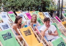 Peace, Love und Filme gucken! Ben & Jerry's Movie Nights in Köln copyright: PR