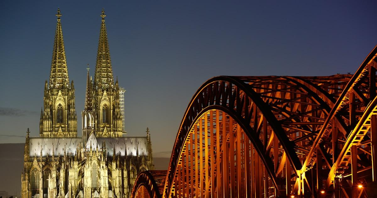 Die Kölner Altstadt wurde natürlich auch unsicher gemacht. copyright: CityNEWS / Alex Weis