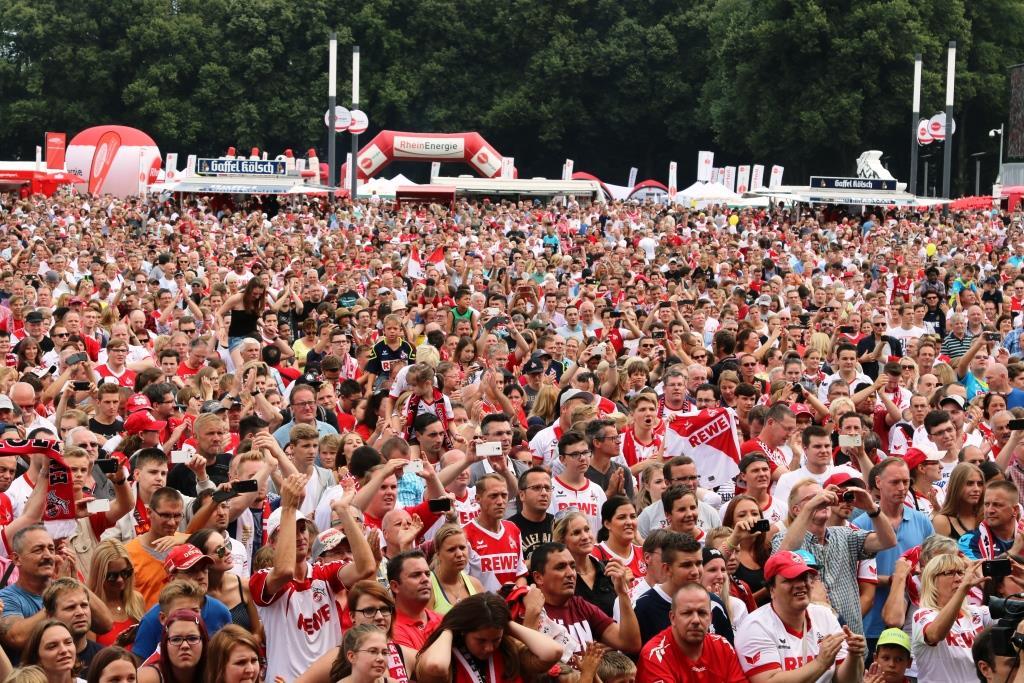 Alle Infos zur großen Saisoneröffnungsfeier 2019 des 1. FC Köln: Hier das komplette Programm! copyright: Alex Weis / CityNEWS