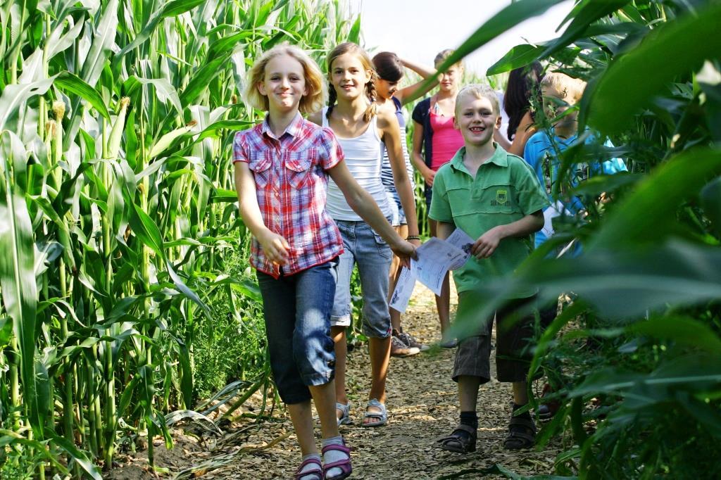 Das Bubenheimer Spieleland: Freude am Spielen mitten im Grünen! copyright: Bubenheimer Spieleland