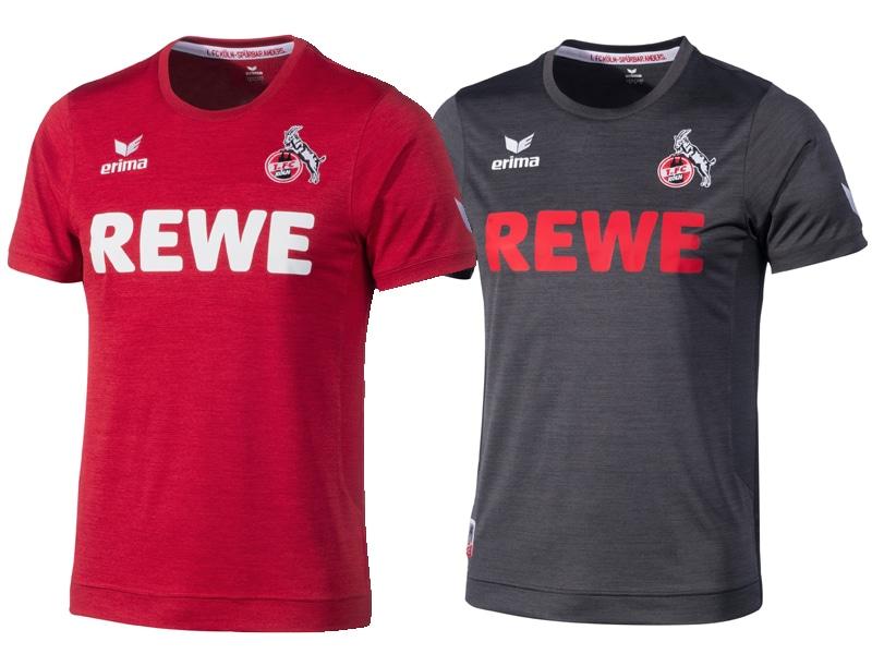 Das Auswärtstrikot in Rot sowie das Ausweichtrikot in Anthrazit sind jeweils aus so genanntem Melange-Stoff hergestellt copyright: 1. FC Köln